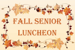 2018 Fall Senior Luncheon @ Historic Oakland | Columbia | Maryland | United States