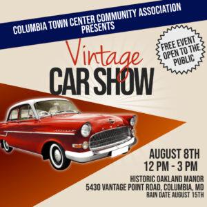 Vintage Car Show @ Oakland Manor