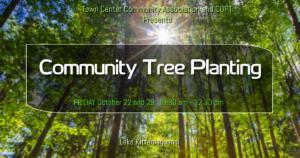 Fall Tree Planting @ Lake to Lake Pathway