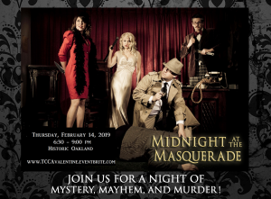 Valentine's Day Masquerade and Murder Mystery @ Historic Oakland | Columbia | Maryland | United States
